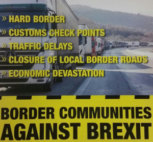Irland-Borderprotest