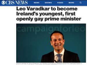 Irland-Leo Varedkar-Zeitung