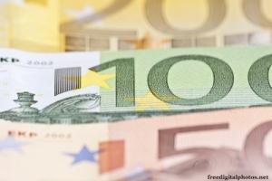 Euro-Geld-Scheine