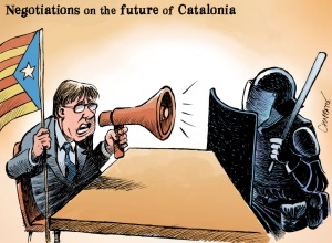 Katalonien-Puigdemont-Cartoon