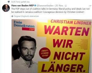 ALDE-FDP-support