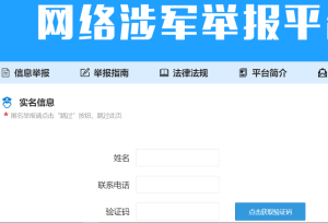 China-Denunziantenseite
