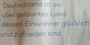 Deutschland-unglücklich