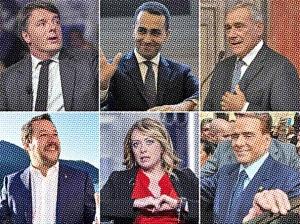 Italien-Politiker2018-Newsprint