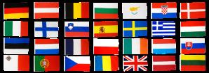 Europa-Flaggen-alle28