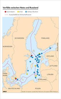 Ostsee-Grenzen-Quelle Infografik WELT