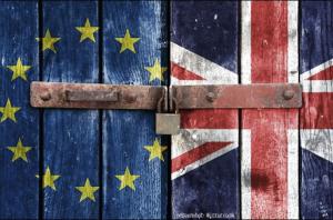 Großbritannien-Brexit-EU-Europa-entfärbt