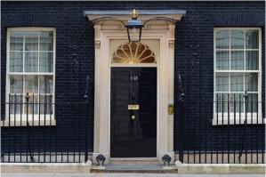 Großbritannien-10DowningStreet-Tür