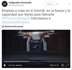 venezuela Anschlag Maduro Drohnen DROHUNG Twitter