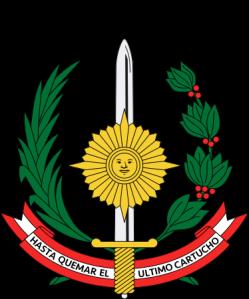 Peru-Militär-Logo
