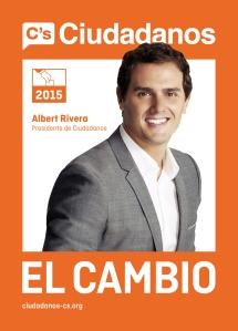 Spanien-Ciudadanos-Wahlplakat2015
